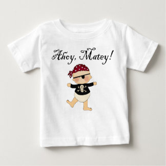 Ahoy Matey Baby Pirate Tee Shirt