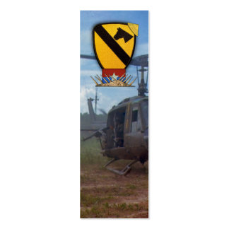 Air Cav Veterans Vets Vietnam War bookmarkers Pack Of Skinny Business Cards
