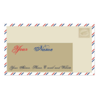 Air Mail Royal Pack Of Standard Business Cards
