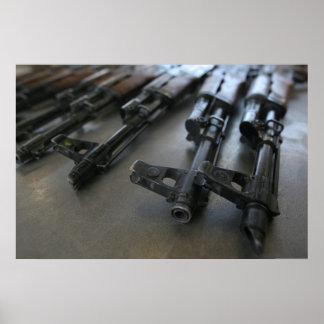 AK-47 Assault Rifles Poster