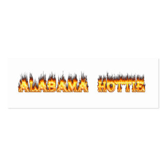 Alabama Hottie Pack Of Skinny Business Cards