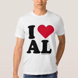ALABAMA - I LOVE AL - I LOVE ALABAMA TEES