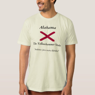 Alabama State Flag Tshirt