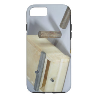 Alabaster box and bronze and silver seal cylinders iPhone 7 case