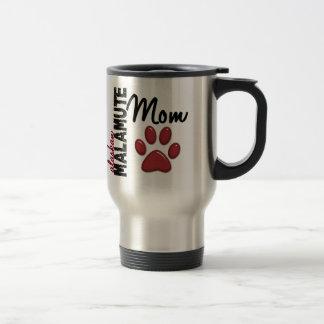 Alaskan Malamute Mom 2 Stainless Steel Travel Mug