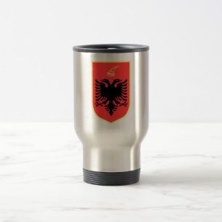 Albania Coat of Arms Stainless Steel Travel Mug