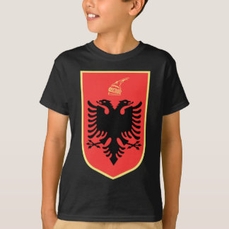 Albania Coat of Arms T Shirts