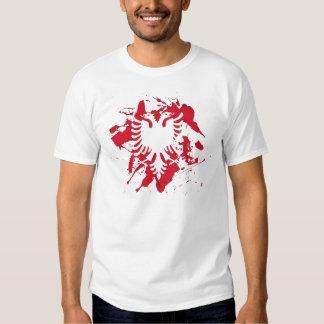 albanian flag shirt
