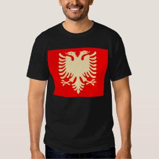 Albanian gold Eagle flag Tees
