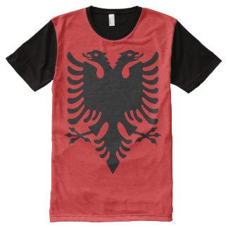 Albanian National flag Shirt All-Over Print T-Shirt