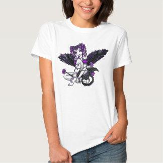 """""""Alexis"""" Purple Angel Tshirt"""