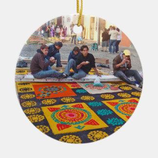 alfombra 18 round ceramic decoration