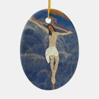 alfombra 28 ceramic oval decoration