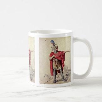 Alfred The Great By Menzel Adolph Von Basic White Mug