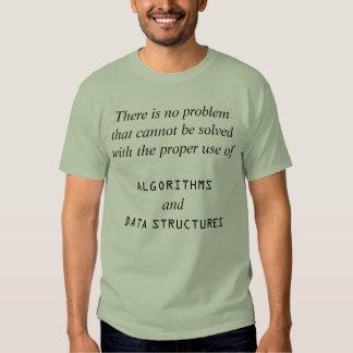 Algorithms+Data Structures Shirts