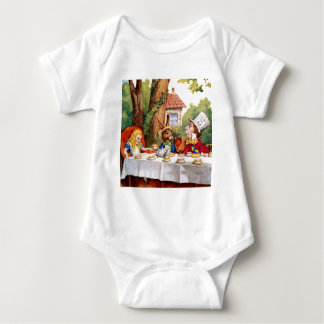 Alice and the Mad Hatter's Tea Party in Wonderland Shirts