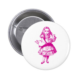 Alice and the Pig Baby Pink 6 Cm Round Badge