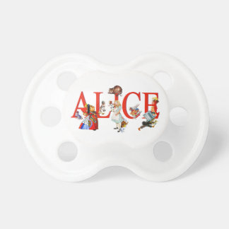 Alice in Wonderland and Friends Pacifier