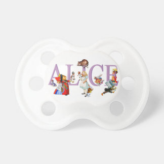 Alice in Wonderland and Friends Pacifiers