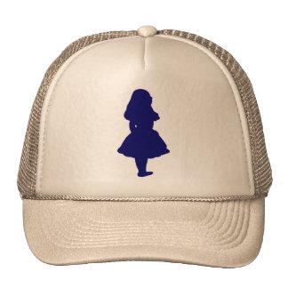 Alice In Wonderland Blue Cap