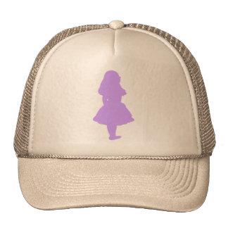 Alice In Wonderland Lilac Lavender Purple Cap