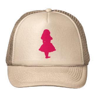 Alice In Wonderland Salmon Fuschia Pink Cap