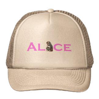 Alice in Wonderland Salmon Pink Cap