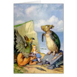ALICE LISTENED INTENTLY AS THE GRIFFIN SPOKE GREETING CARD