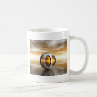 Alien Pod Basic White Mug