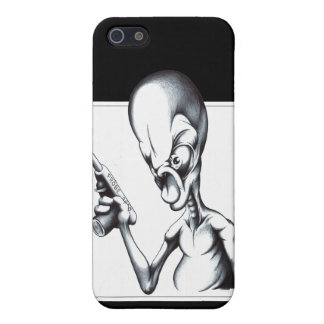 Alien Probe iPhone 5/5S Covers