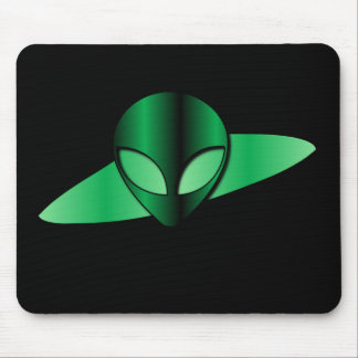 Alien UFO Mouse Pad