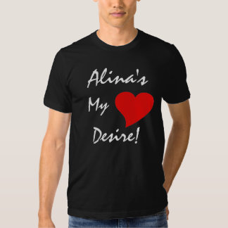 Alina's My Heart's Desire With Celtic Meaning Tshirts