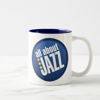 All About Jazz Two-Tone Mug