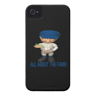 All About The Fans Case-Mate iPhone 4 Case