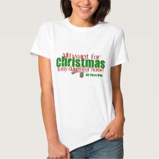 All I want AF Mom Daughter T Shirt