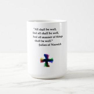 All Shall be Well Basic White Mug