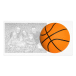 All Star Photocard Basketball Template Picture Card