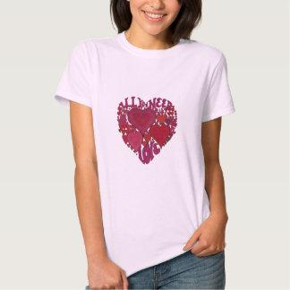 All You Need Is Love Heart Tee Shirt
