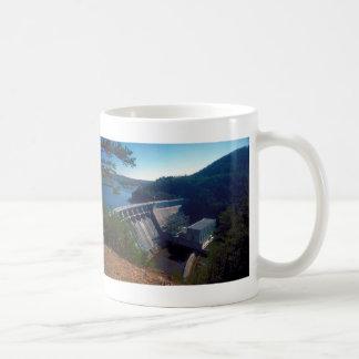 Allatoona Dam and Lake Basic White Mug