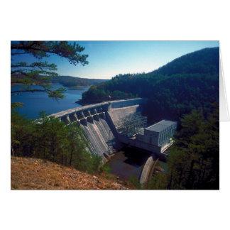 Allatoona Dam and Lake Greeting Card