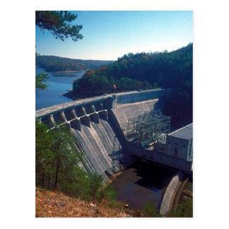 Allatoona Dam and Lake Postcard
