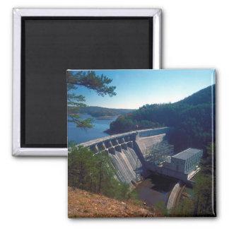 Allatoona Dam and Lake Square Magnet