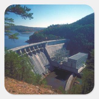 Allatoona Dam and Lake Square Sticker