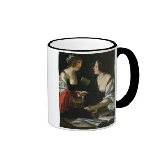 Allegory of Painting and Architecture, c.1620 (oil Ringer Mug