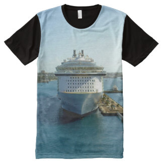 Alluring Bow All-Over Print T-Shirt