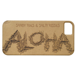 ALOHA iPhone, Sandy Toes & Salty Kisses iPhone 5 Cover
