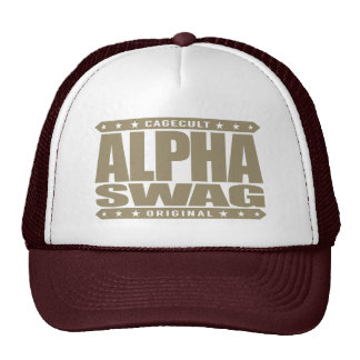 ALPHA SWAG - Positivity Destroys Haters, Gold Cap