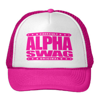 ALPHA SWAG - Positivity Destroys Haters, Pink Cap