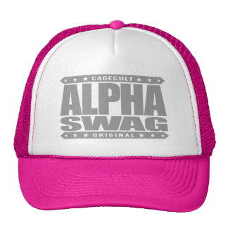 ALPHA SWAG - Positivity Destroys Haters, Silver Cap
