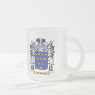 Alston Coat of Arms - Family Crest Frosted Glass Mug